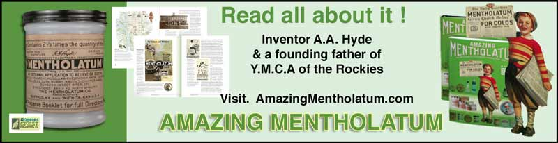 The book Amazing Mentholatum by Alex Taylor.